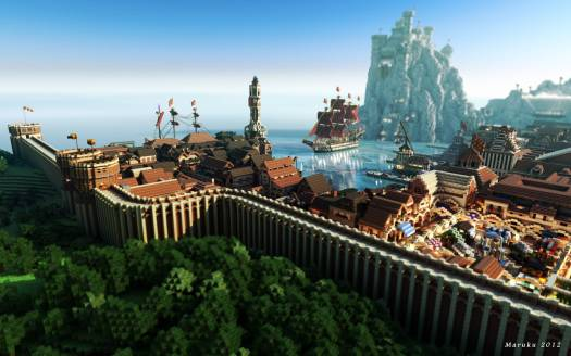 Minecraft vs. Game Of Thrones